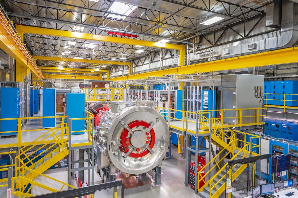 Nuclear-Fusion Firm Hits Funding Record With Plasma Breakthrough