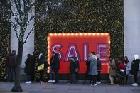 Shoppers Take Part In The Boxing Day Sales At The Selfridges Ltd. Department Store