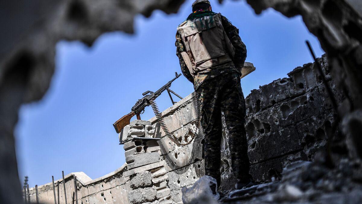 Trump Says Raqqa Defeat Signals Islamic State's End `In Sight'