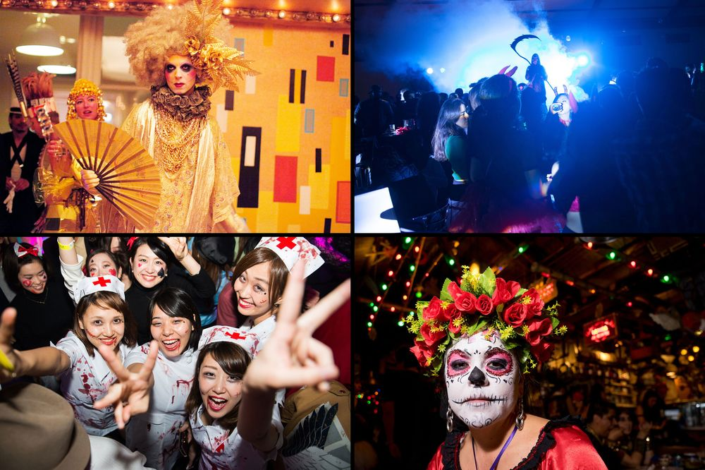 inside the most insane halloween costume parties around the globe - Halloween Costumes Parties