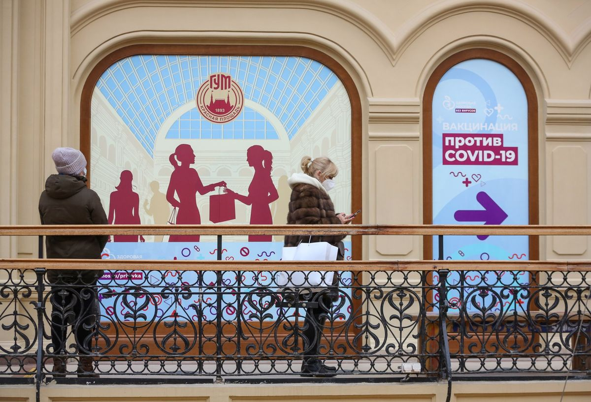 As Others Rush to Vaccinate, Moscow Lures Takers With Ice Cream