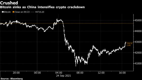 Stocks Rise While China's Crackdown Roils Crypto: Markets Wrap