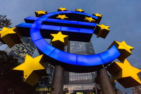 The ECB kept interest rates on hold at record lows as data signaled that the risk of deflation in the euro area is waning.