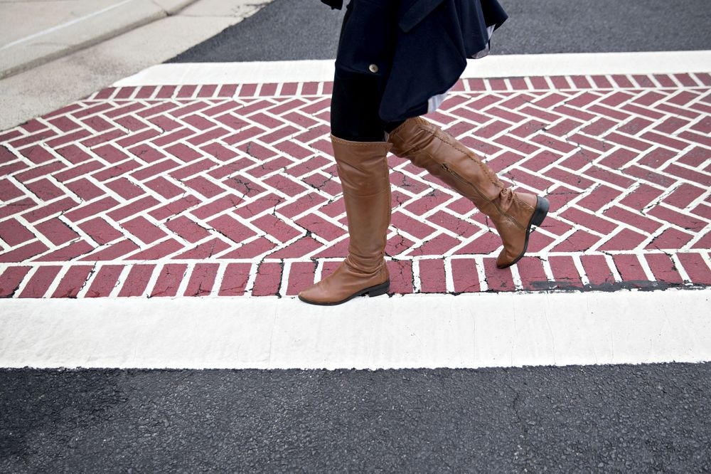 Pedestrian Deaths Are Rising on America's Roads - Bloomberg