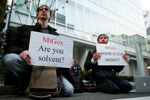 True Believers Cheer the Fall of Bitcoin Exchange Mt. Gox