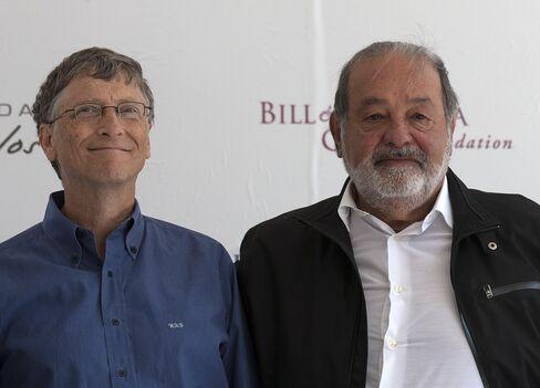 Gates Overtakes Slim as World's Richest Man