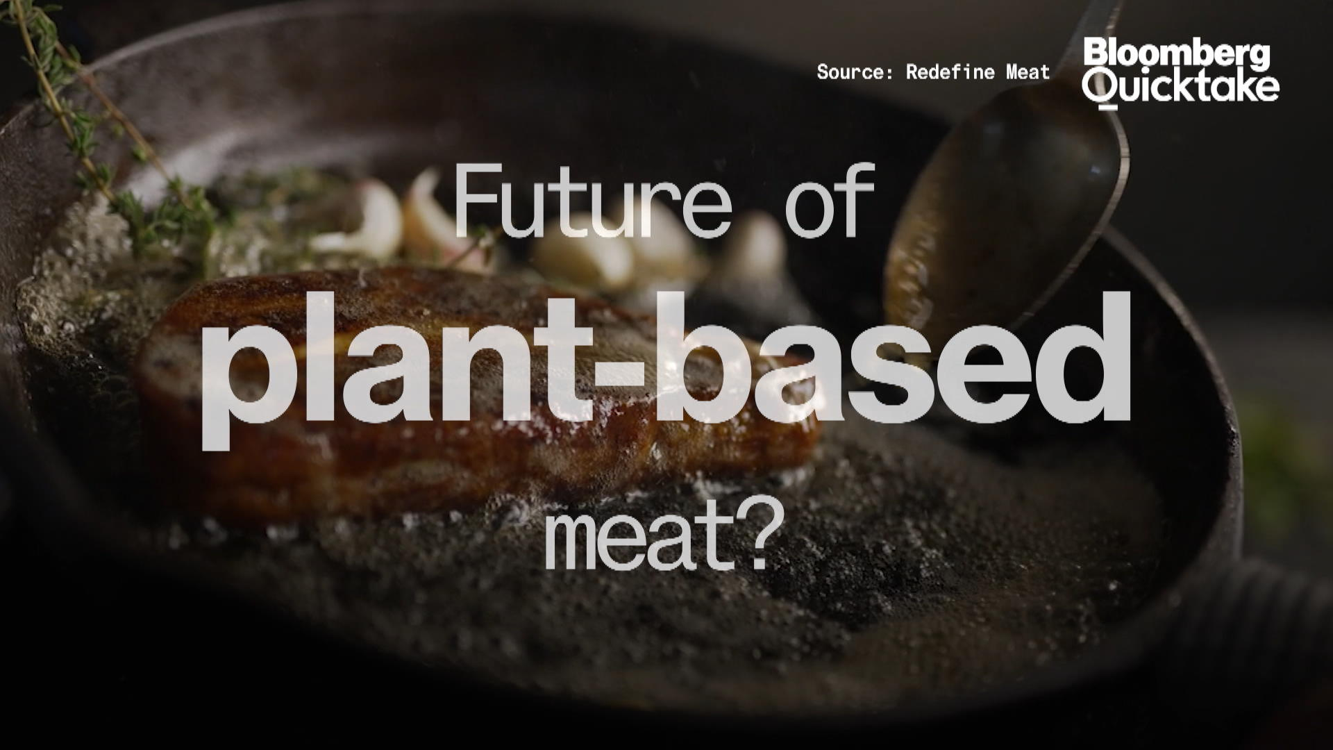 What's the Future of Plant-Based Meat?