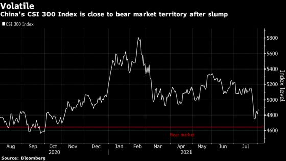 Chinese Stocks Jump as Beijing Signals More Economic Support