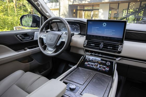 Ford Updates Its Cash-Cow Lincoln Navigator, But Skips Electric Power