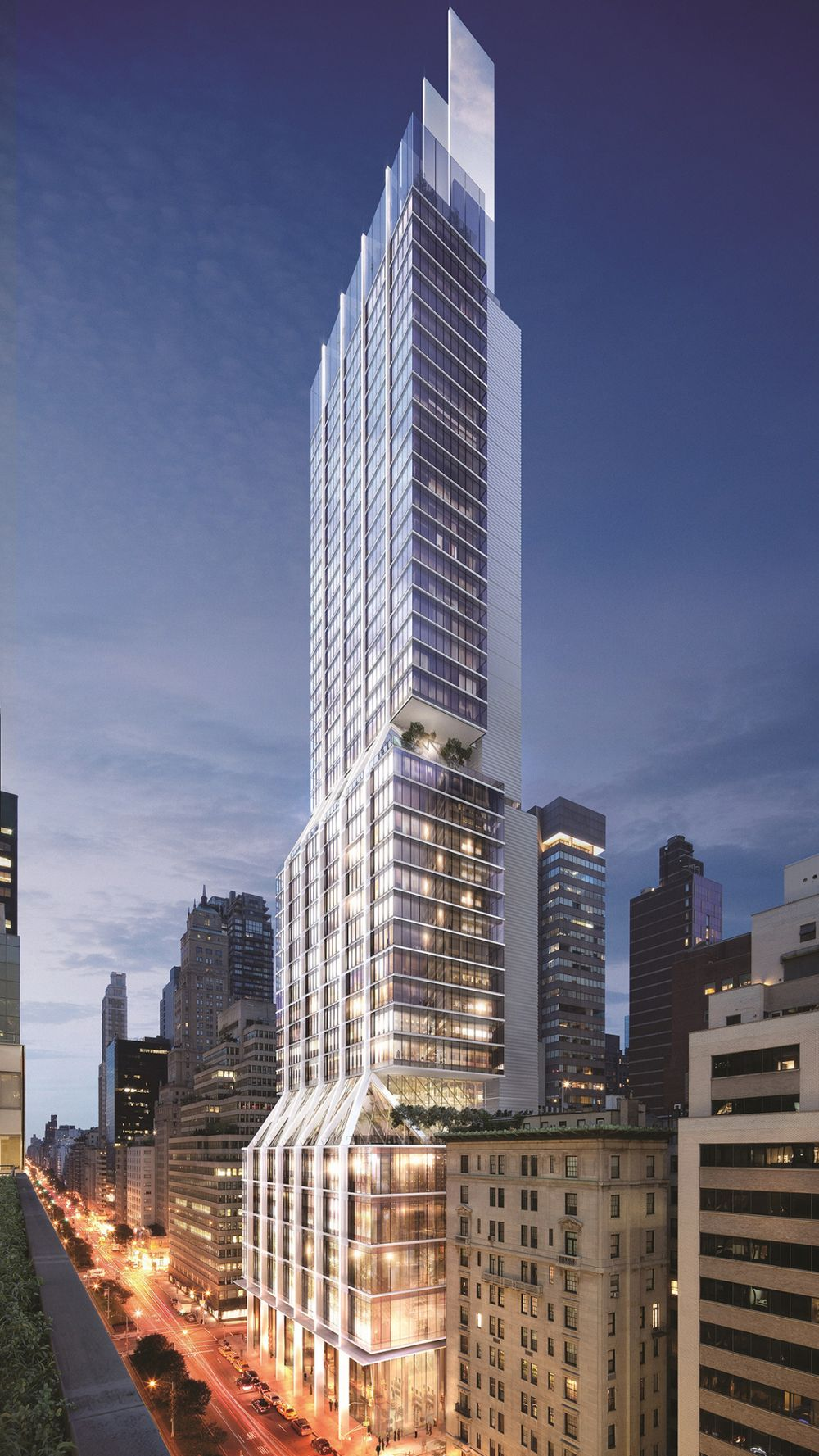 Citadel Leases Anchor Space at New Tower on NYC's Park