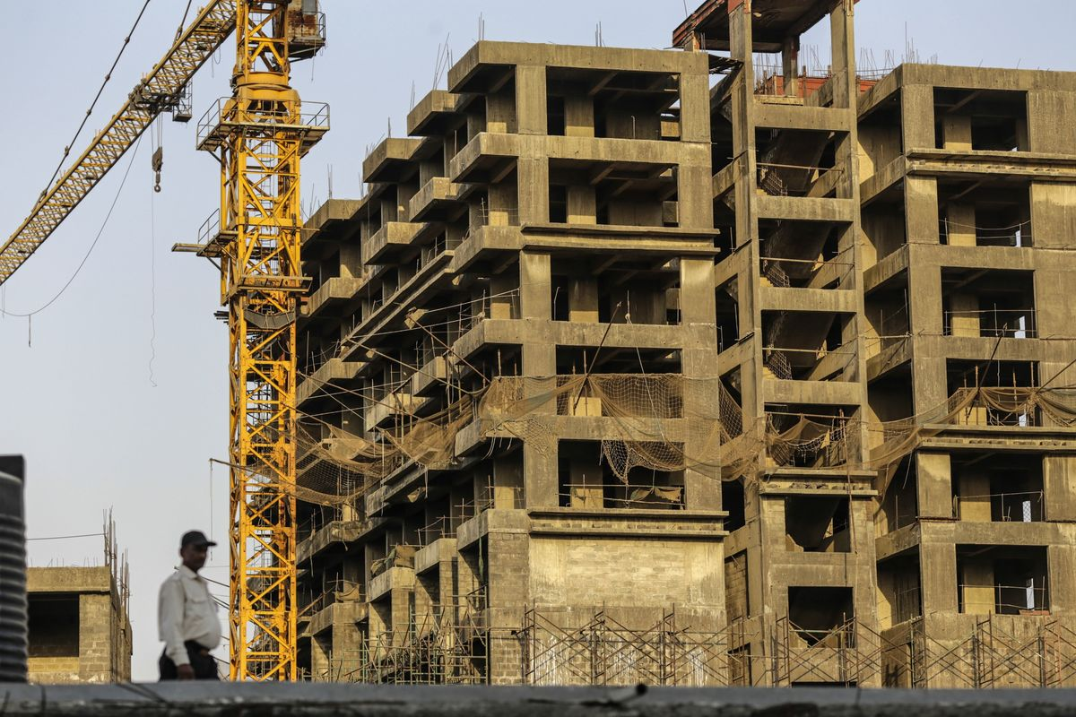 Bankruptcies Double at Developers on India's Mini-Lehman Moment