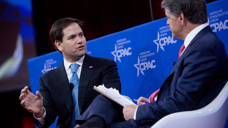 Rubio speaks