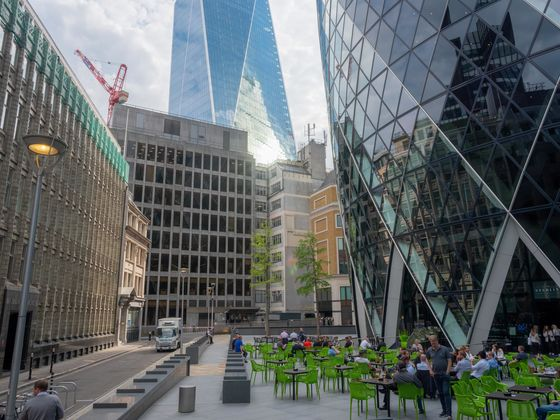 A Tour of the City of London Says Reopening Will Be No Big Bang