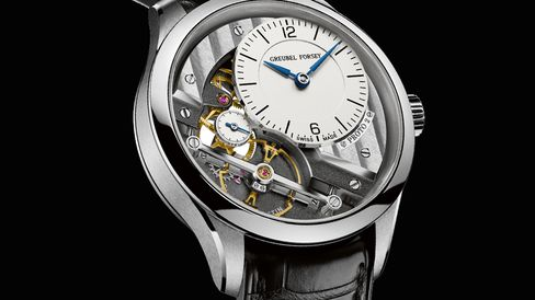 Greubel Forsey Signature 1 in white gold.