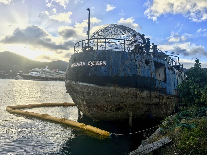 WWII War Warship to Become Artificial Reef in BVIs 2