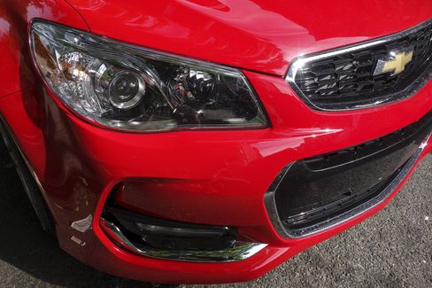 The Chevy SS has LED headlights and auto-dimming side mirrors.