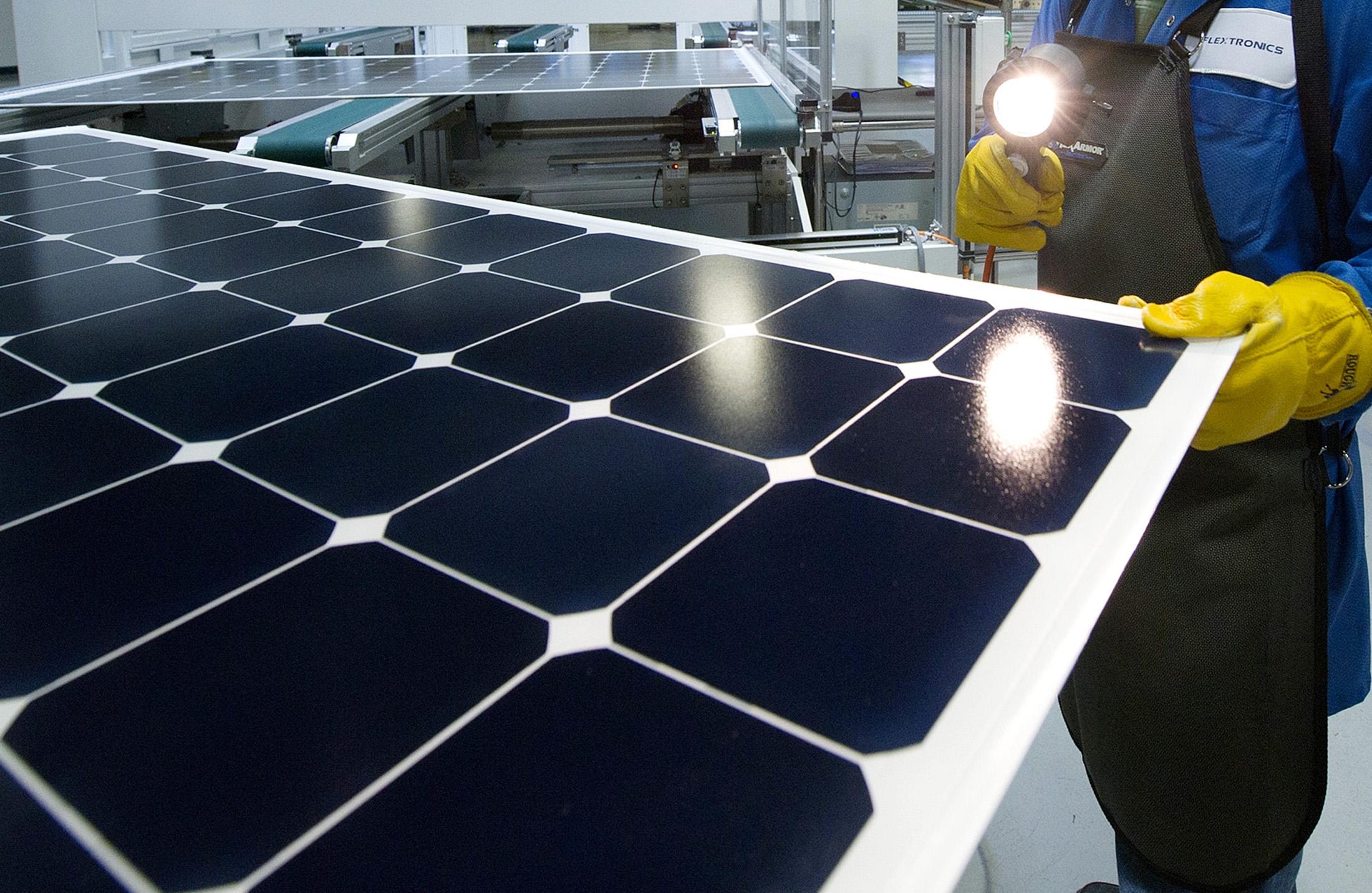 is beats solarcity panel record module world most solar efficiency efficient panels solarcitys quickly mitsubishi s panasonic