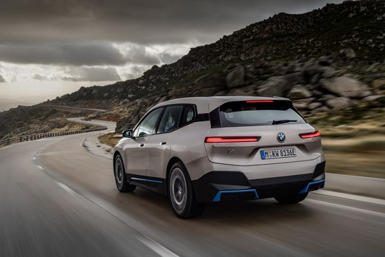 BMW Takes a Step Out of Tesla, VW's Shadow With Electric SUV