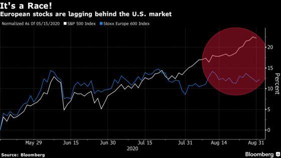 European Stocks Decline in Longest Losing Streak Since Mid-June