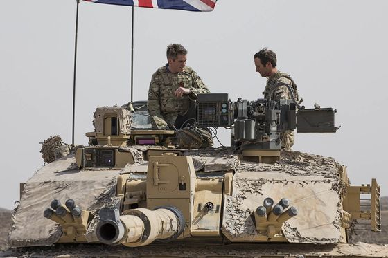 U.K. Opens Military Base in Oman to Expand Presence in the Gulf