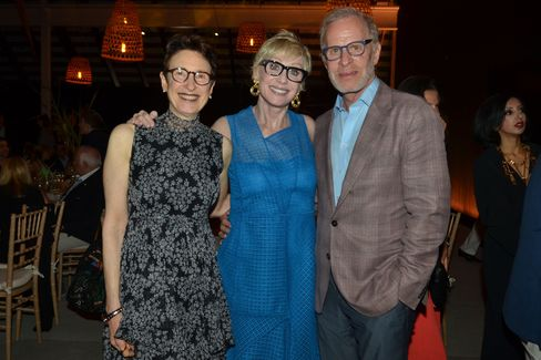 Terrie Sultan with Carol and Michael Weisman