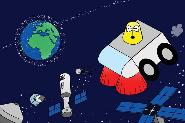 relates to Satellites Are Crowding Space, and It's Time for a Cleanup Plan