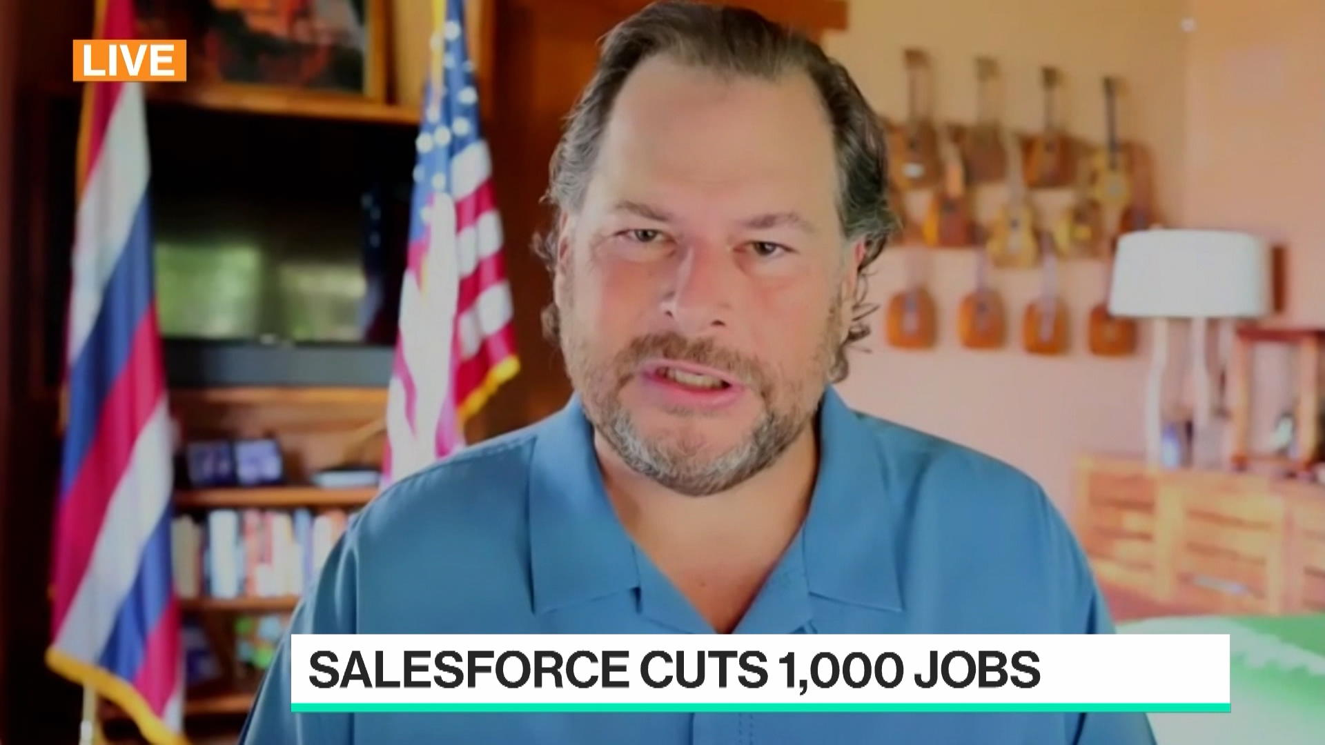Benioff Says Cloud-Based Computing May Be End of Software