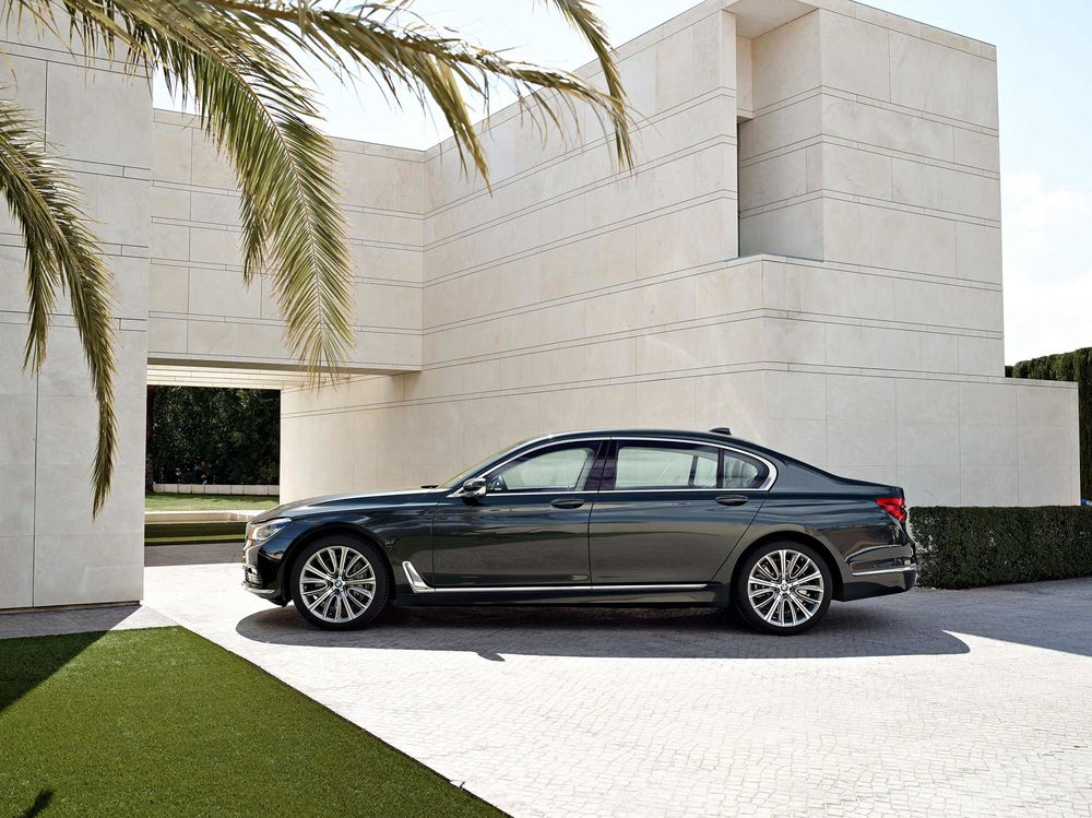 2016 Bmw 7 Series 750i Xdrive Review Bloomberg