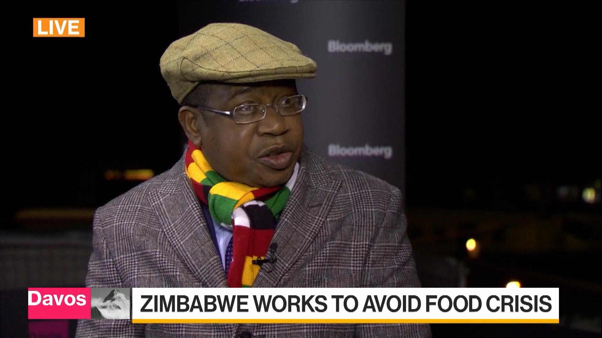 Zimbabwe Finance Minister Discusses Food Shortage Economy Bloomberg