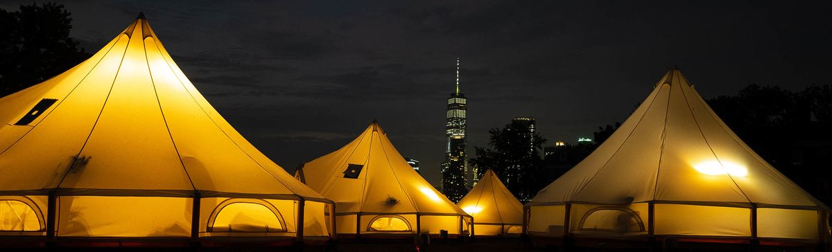 Collective Retreats Governors Island New York City Camping