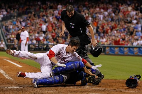 MLB Homeplate Collisions