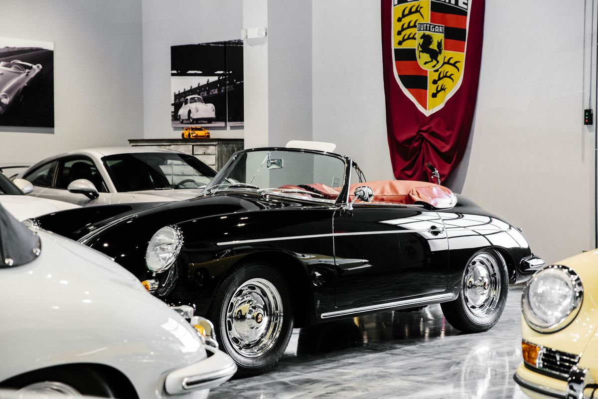 Where The Porsche Family Goes To Get Their Porsches Fixed Up Bloomberg