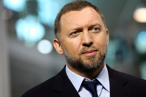 Rusal CEO Oleg Deripaska