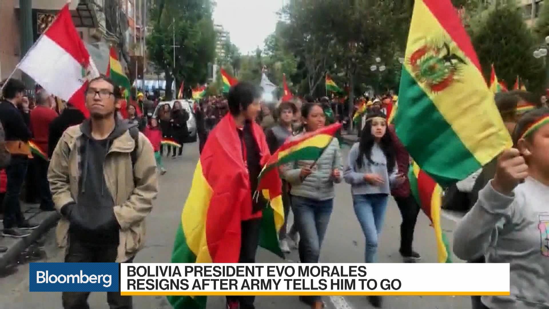 Bolivian President Evo Morales Resigns