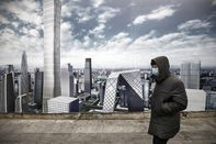 Images of Air Pollution as Heavy Smog Chokes China