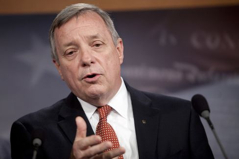 Democratic U.S. Senator from Illinois Richard Durbin