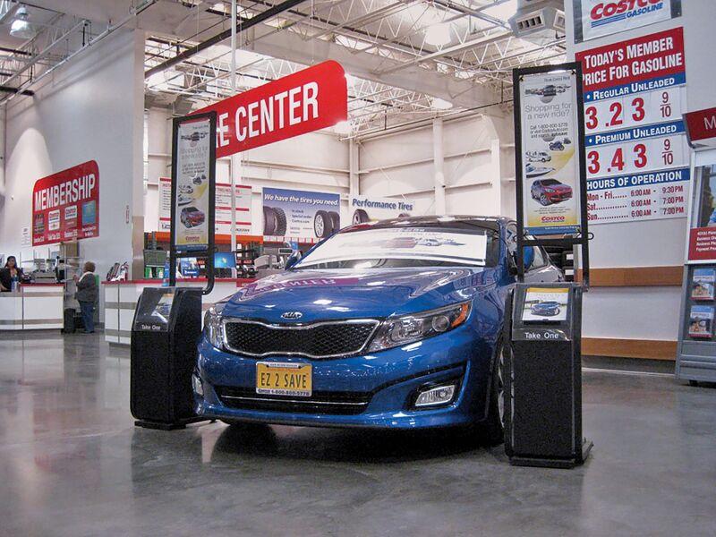 Costco S Car Sales Near Autonation S As Buyers Seek No Haggle Deals