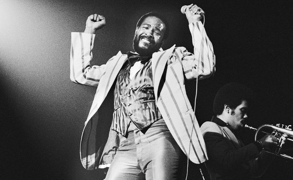 Marvin gaye talks about springsteen