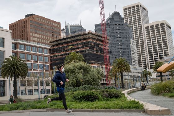 How Tech's Empty Offices Helped San Francisco Bend the Curve