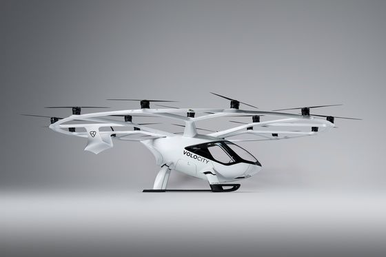 Air-Taxi Startup Volocopter Boosts Funds in Race to Get Flying