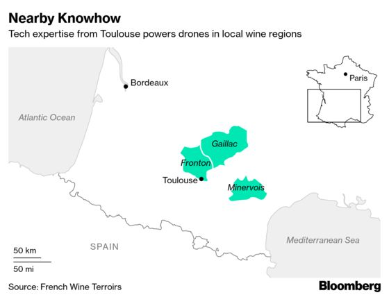 Thanks to Drones, French Wine Tastes Better