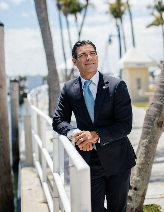 Miami Mayor Tries to Build a Tech Mecca, One Tweet at a Time