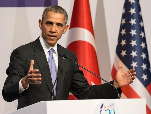 US President Obama holds press conference