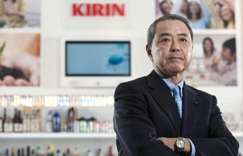 Kirin Holdings Co. CEO Senji Miyake