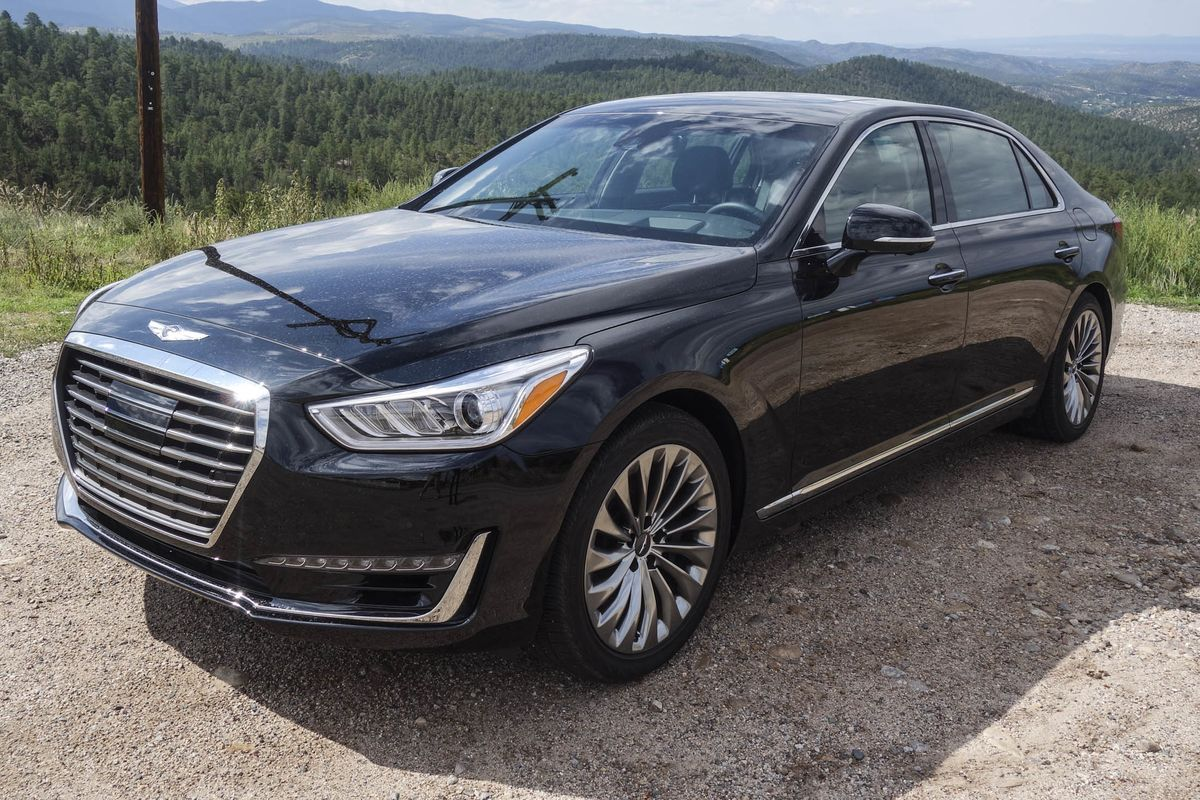 What Is A Genesis Car Test Driving Hyundais New Luxury Line