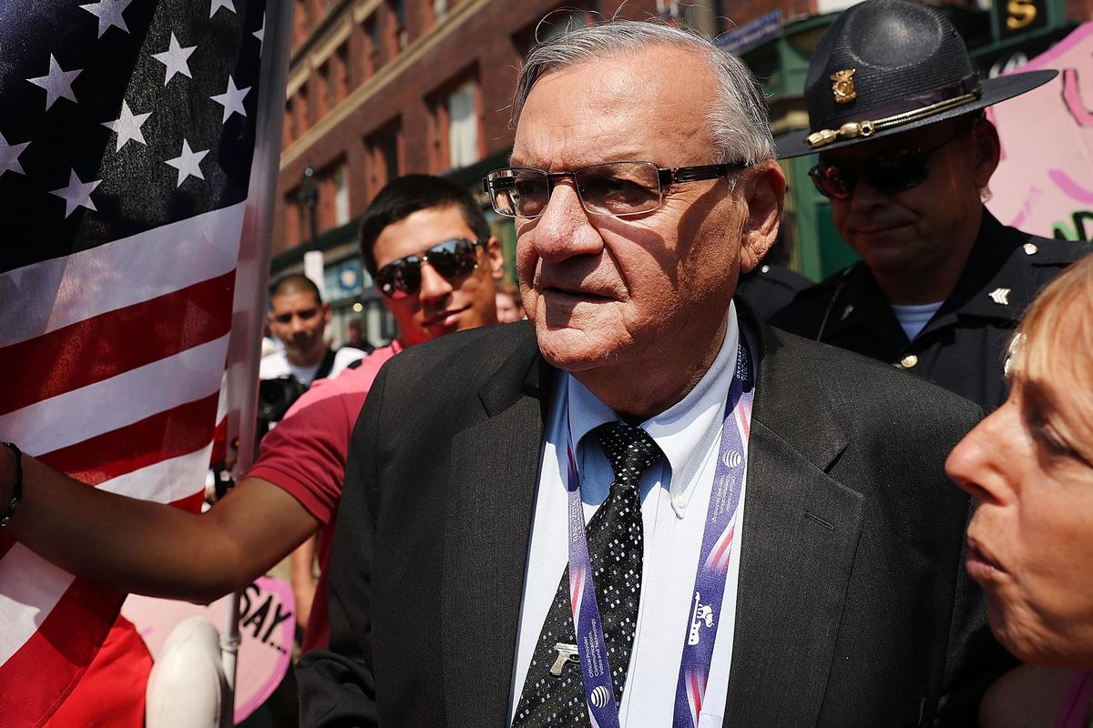 Sheriff Joe Arpaio to Face Special Prosecutor Over Bid to Erase History