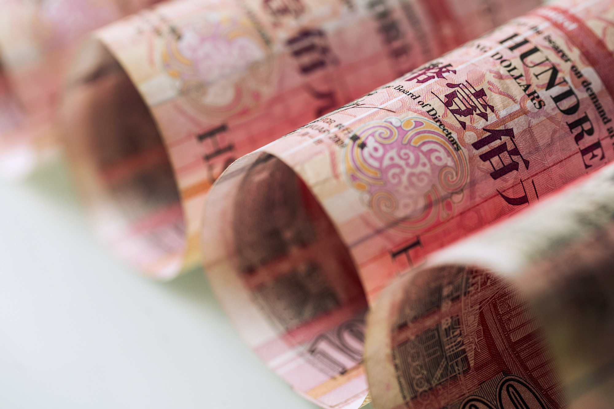 What's Pulling at the Hong Kong Dollar's Peg: QuickTake
