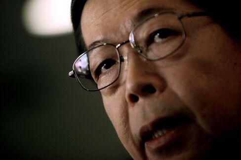 Thailand Central Bank Governor Prasarn Trairatvorakul
