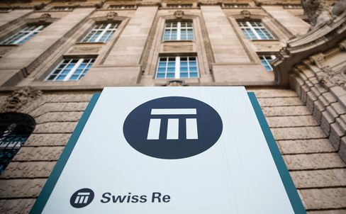 General Views Of Swiss Re AG's Headquarters