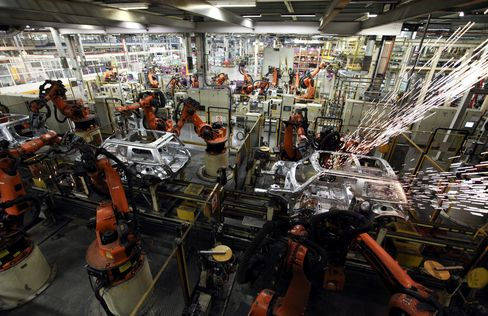 Global Manufacturing Picks Up as Europe's Slump Eases